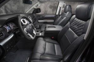 The 2016 Tundra has a big, roomy cabin.