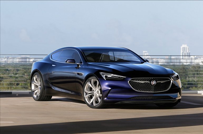 The Buick Avista Concept Is A 2 Coupe That Says Pushes Brand S