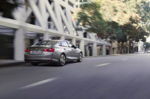 The Chevrolet Malibu has the best fuel economy in its class.