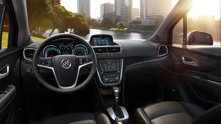 The Materials And Execution Are Both Good In 2016 Buick Encore But Infotainment