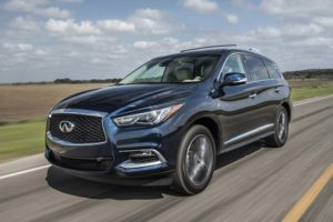 The 7-passenger QX60 accounted for one-third of all Infiniti sales.