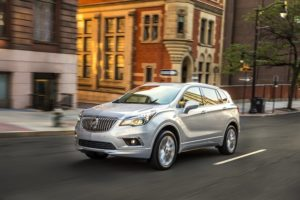 2017 Buick Envision. The new Envision and Enclave SUVs led the way with sales of Buick SUVs up a stunning 93 per cent in November.